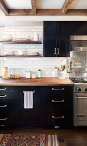 kitchen cabinet colors with butcher block countertops 25 butcher block countertops for your kitchen shelterness