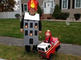 Fireman Halloween Costume Toddler Sound Alarms U0027s Firefighter Family Costume Affair