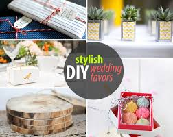 diy wedding favors for design lovers dream home style