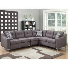 Spencer Leather Sectional Sofa 4 Sectional Sofa For 4 Sectional Sofa With Chaise 11
