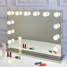 plug in vanity light strip waneway hollywood diy vanity lights strip kit for lighted makeup