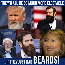 Memes About Beards - if only united states presidential candidates had beards by rekt