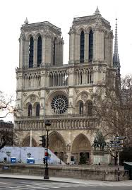 christian enthusiastical page 4 the massive twin tower facade of notre dame cathedral in paris
