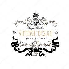 Invitation Business Cards Monogram Design Elements Prestige Logo Designs Elegant Line Art