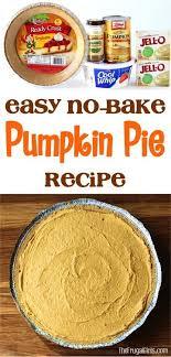 best 25 no bake pumpkin pie ideas on pumpkin pie