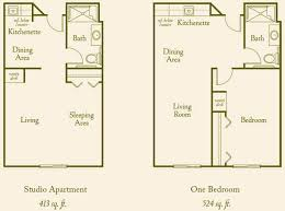 mission floor plans floor plans assisted living in california mission senior