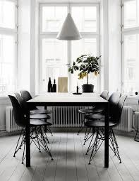 black and white dining room ideas 40 cool scandinavian dining room designs digsdigs
