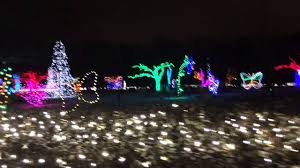 holiday lights tour detroit detroit zoo lights youtube
