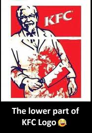 Memes Kfc - dopl3r com memes kfc the lower part of kfc logo e