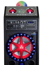 Party Speakers With Lights Party Speakers With Lights U0026 Bluetooth Double 10 U0027s