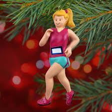 running ornament blonde