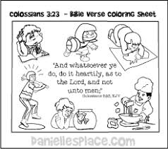 Bible Verse Coloring Sheets For Sunday School New Testament Bible Verses Coloring Sheets