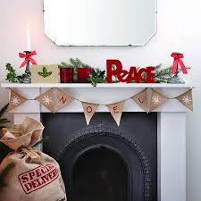 christmas vintage style u0027noel u0027 bunting buntings noel and