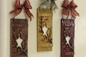 country star home decor country star hanging wall decor set primitive home decor crafts