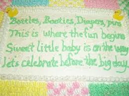 gallery baby shower cake sayings for a baby shower decor
