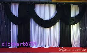church backdrops 3 6m 10ft 20ft funeral backdrop church stage curtain with sequins