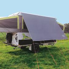 Camper Roll Out Awning Coast Sunscreens