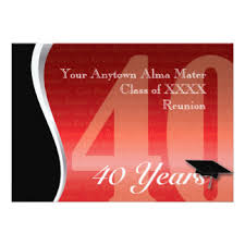 gifts for class reunions 40th high school reunion gifts on zazzle