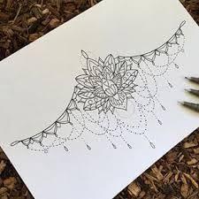 lotus mandala underboob tattoo google haku cute wee tattoo