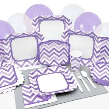 purple baby shower ideas baby shower tableware by babyshowerstuff