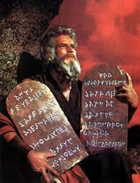 Ten Commandments Law of Moses Added law transgression