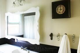 White Framed Bathroom Mirrors Why Should We Frame Bathroom Mirrors U2013 Simple Bathroom Mirror