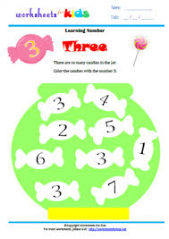 10 writing numbers number 3 worksheets for kids