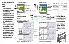 revit tutorial view range revit tip floor plan and ceiling plan view range explained