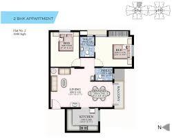 2 Bhk Floor Plans Ruby Elite Residential Projects In Chennai Santhosapuram Flats