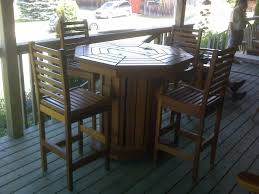 Cedar Patio Table Stylish Western Red Cedar Patio Furniture Of Tall Bar Stools And