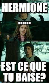 Horny Harry Meme - hermione horny harry meme en memegen