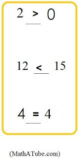 free comparing numbers greater than or less than worksheets math