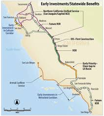 california high speed rail map a different future with california high speed rail the transport