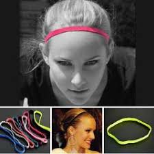 sports hair bands 100pcs newest women men hair bands sports headband anti slip