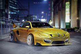 bmw m4 widebody artstation bmw m4 widebody 2020 mikołaj majcherek