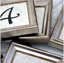 silver frames for wedding table numbers wedding table numbers words of willow