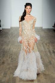 feather wedding dress wedding dresses with feathers are our favorite new wedding dress
