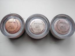 mac paint pots vs benefit creaseless cream shadows u2013 floating in