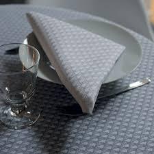 nappe en coton enduit nappe mirage metal