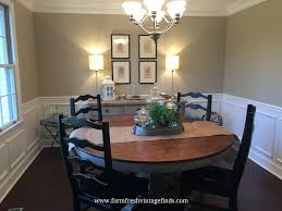 Repurpose Dining Room by Staining An Oak Table Farm Fresh Vintage Finds