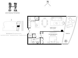 residence floor plan hyde resort u0026 residences condos for sale hyde beach hollywood