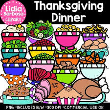 thanksgiving dinner clipart lidia barbosa clipart by lidia barbosa