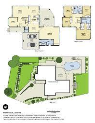 castle green floor plan 4 merlin court castle hill nsw 2154