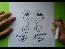 imagenes de un sapo para dibujar faciles como dibujar una rana paso a paso 2 how to draw a frog 2 youtube