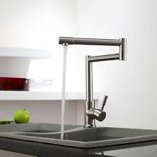 shop whitehaus collection decohaus brushed nickel 1 handle decohaus deck mount pot filler kitchen faucet id 1118404 ebay