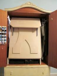 Armoire Furniture Plans Awesome Sewing Armoire Plans And Build Armoire Furniture Plans And