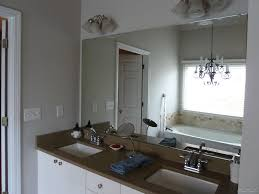 framing bathroom mirror with molding diy framed mirror using standard moldings