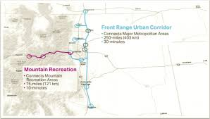 Colorado Front Range Map by Hyperloop One Three Colorado Finalists For Project To Deal With I