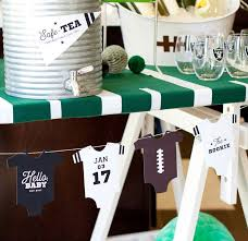football baby shower beautiful design football themed baby shower splendid best 25