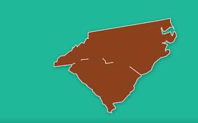 Map Of Carolinas North Carolina South Carolina Border Could Shift After Years Of